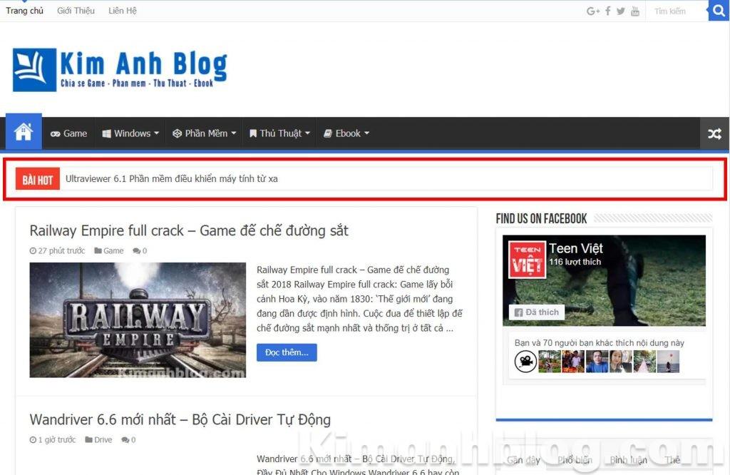 Tạo Breaking News cho BlogSpot blogger, code Tạo Breaking News cho BlogSpot blogger, Tạo Breaking News cho BlogSpot blogger đơn giản