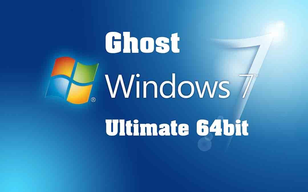 Ghost Win 7 64bit Full Soft Full Driver + Menu Boot