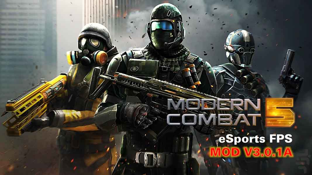 Modern Combat 5 eSports FPS mod apk v3.0.1a
