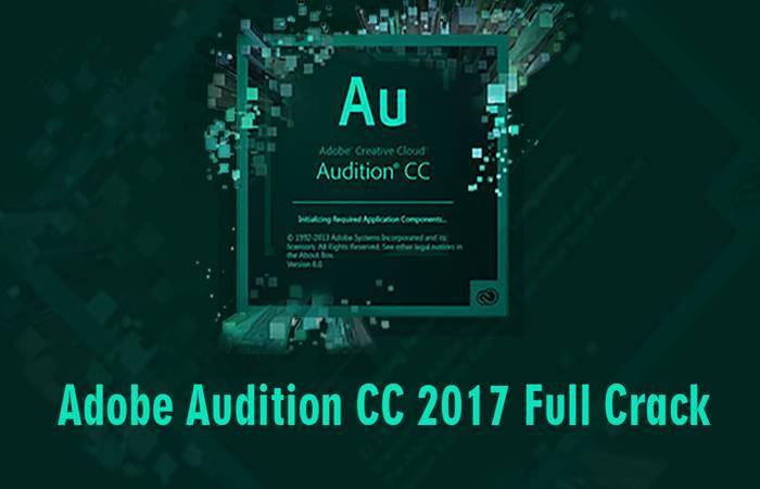 crack adobe audition cc 2017