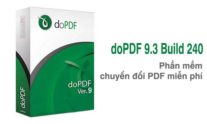 dopdf full crack, dopdf 9, máy in ảo dopdf, dopdf portable, phần mềm chuyển đổi PDF, tạo máy in ảo với dopdf, dopdf 9.3.240, dopdf 9 build 240