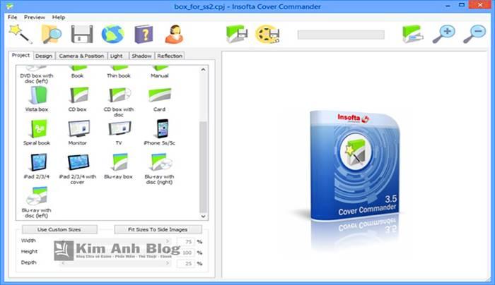 Insofta Cover Commander 5.6.0, Insofta Cover Commander full keygen, Insofta Cover Commander full crack, phần mềm tạo mô hình 3d, tạo hộp 3d