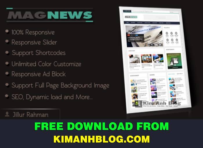 blogger template, template blogspot, responsive blogger template, template seo, template magnews - responsive blogger template, template magnews, magnews blogspot template, tải magnews template
