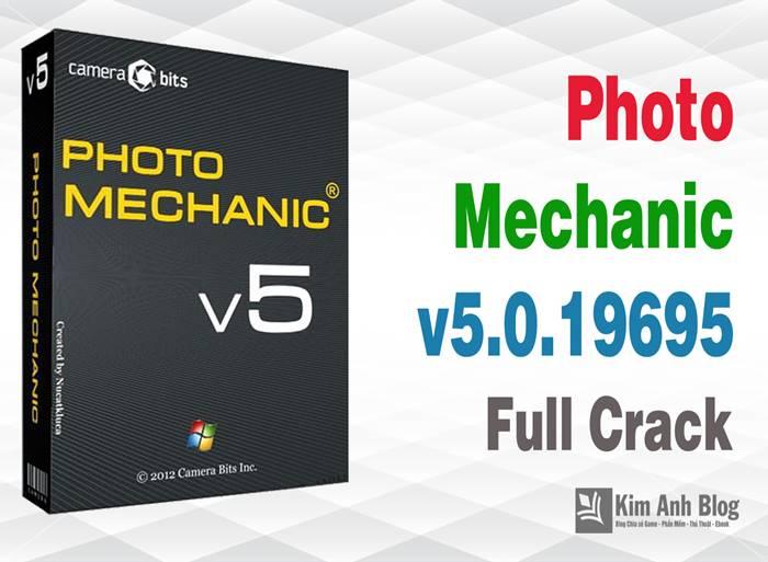 Photo Mechanic 5.0.19695 Full Crack – Xem và chỉnh sửa ảnh đơn giản