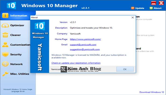 windows 10 manager portable, phần mềm windows 10 manager, cách sử dụng windows 10 manager, windows 10 manager fshare, phần mềm tối ưu hóa win 10, công cụ tối ưu hóa win 10, windows 10 manager la gi, windows 10 manager 2.3.2, windows 10 manager 2.3.2 full, windows 10 manager 2.3.2 portable