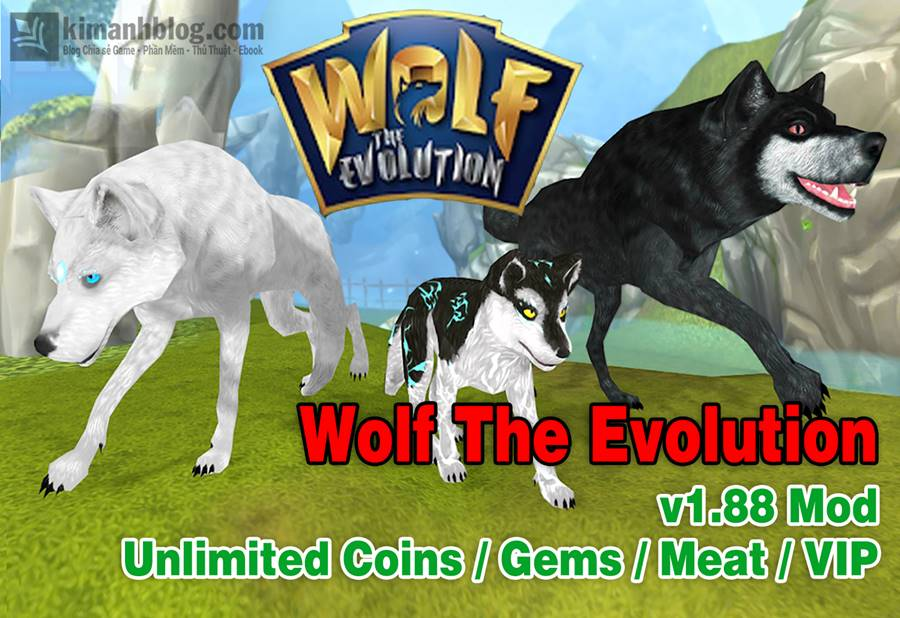 Wolf The Evolution Mod Kim cương – Game sói RPG offline hấp dẫn cho Android
