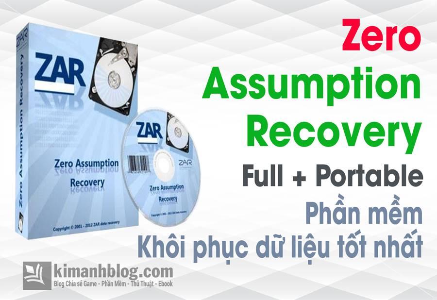 Zero Assumption Recovery 10.0 Build 1231 Full Crack – Phần mềm khôi phục dữ liệu mạnh mẽ