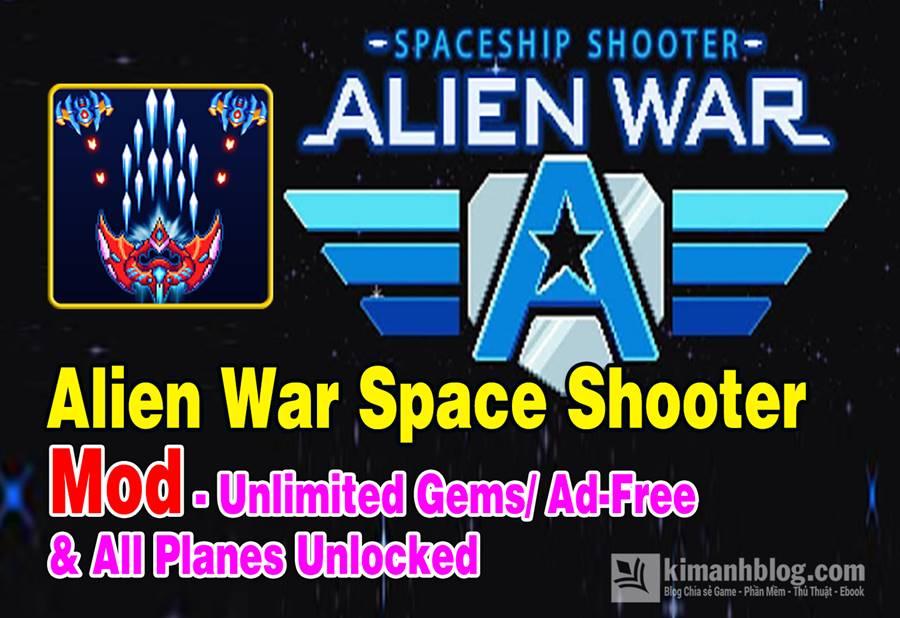 alien war space shooter mod apk