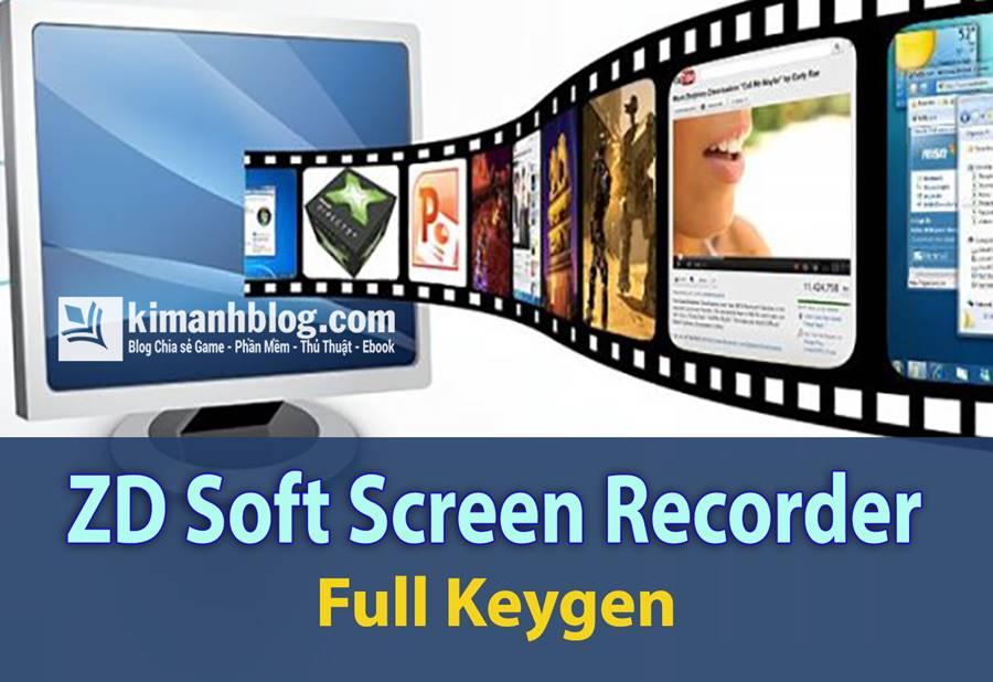 ZD Soft Screen Recorder Full Key