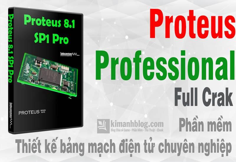 Proteus Professional 8.8 SP1 Full Crack – Phần mềm thiế kế bảng mạch điện tử chuyên nghiệp