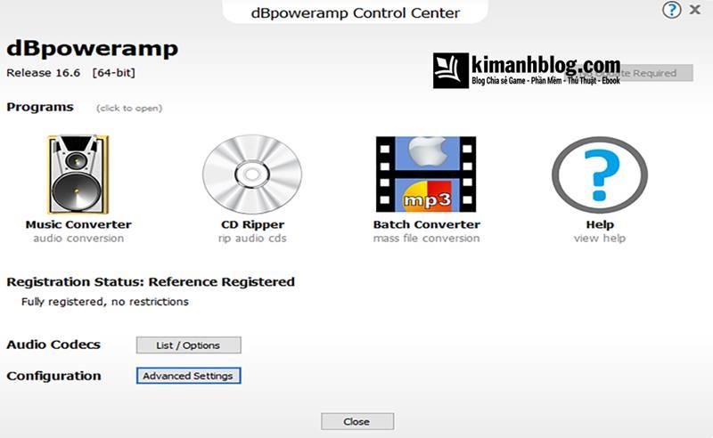 dbpoweramp music converter full