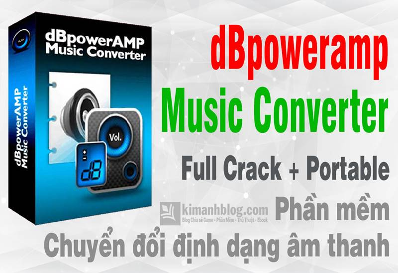 dbpoweramp music converter r16.6 full