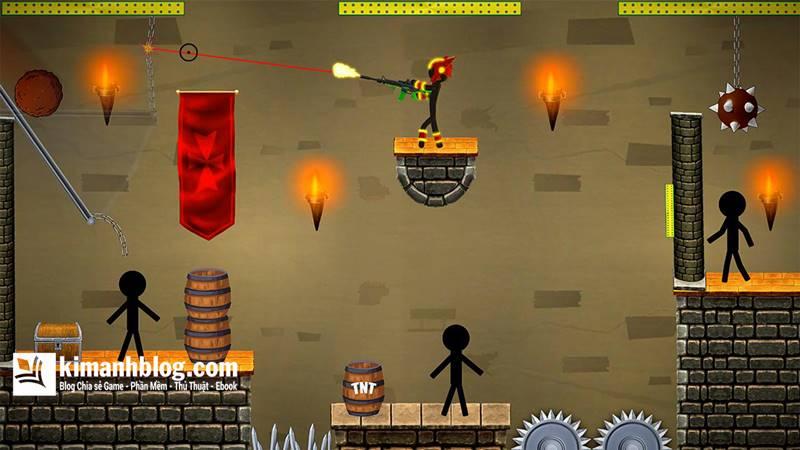 stickman shotgun shooting mod gold