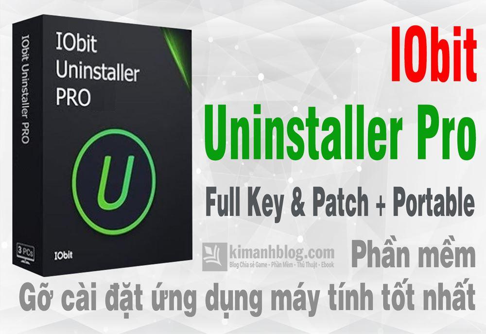 Iobit Uninstaller Pro 8.3.0.14 Full + Portable – Gỡ ứng dụng chuyên nghiệp