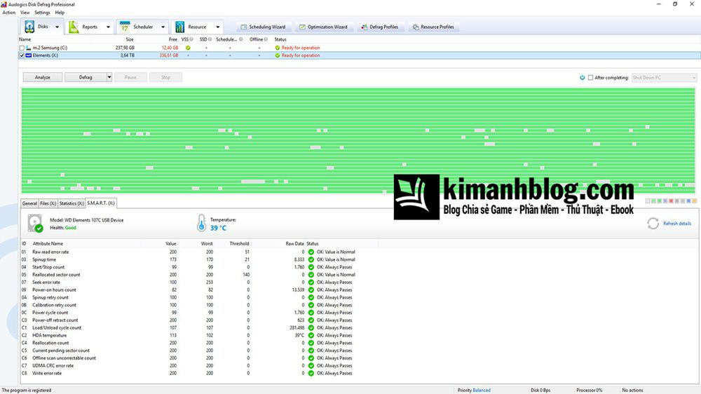 auslogics disk defrag professional full
