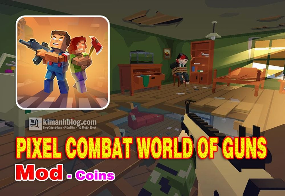 pixel combat world of guns mod