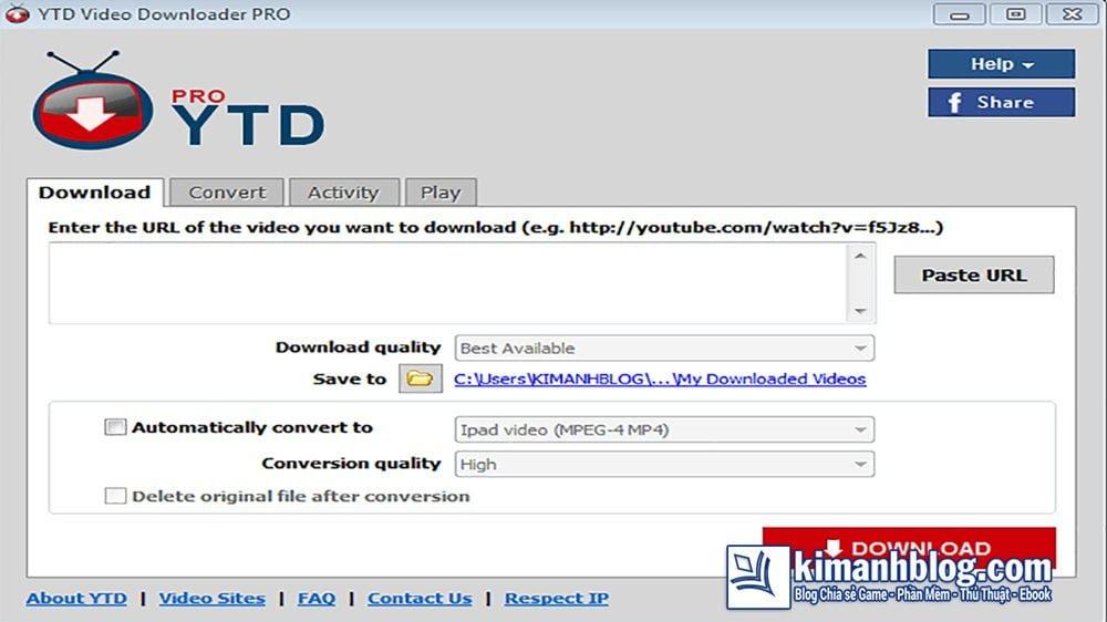YTD Video Downloader PRO 5.9 Full
