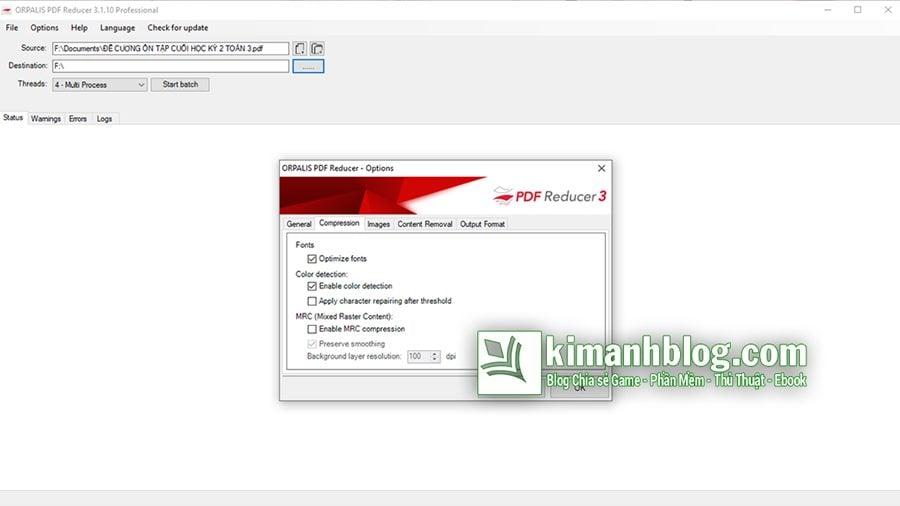orpalis pdf reducer professional