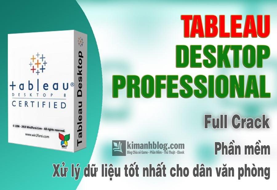 tableau desktop professional edition 2019