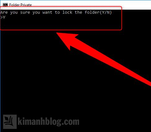 bảo vệ thư mục bằng mật khẩu trên windows 10