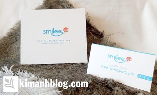 bộ kit làm trắng răng smilee giá bao nhiêu