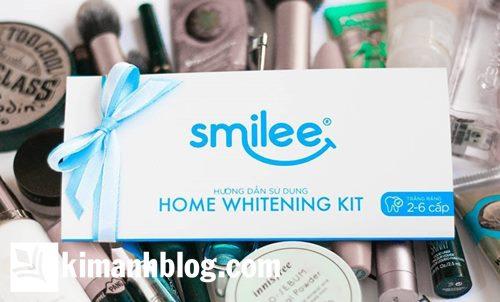 mua bộ kit làm trắng răng smilee chính hãng ở đâu