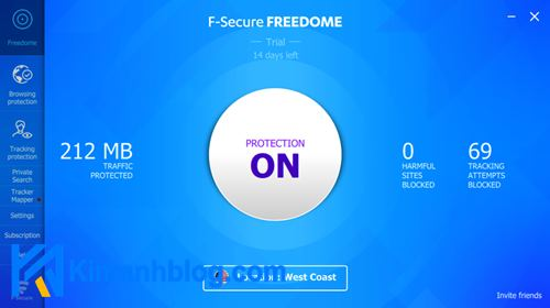 f-secure freedome vpn download