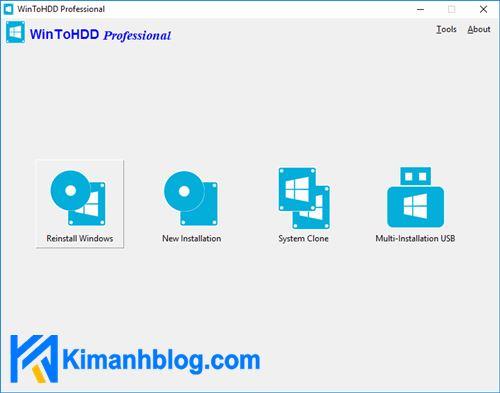 Download WinToHDD 5.0 Technician Full cr2ck + Portable
