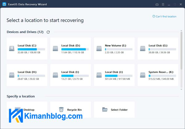 EaseUS Data Recovery Wizard 14 full